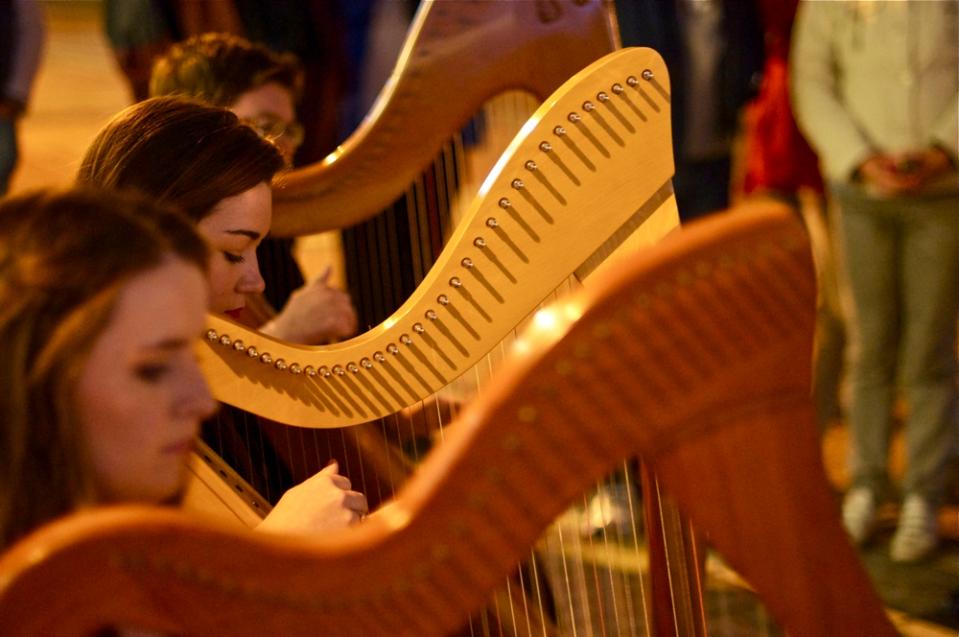 harps' night